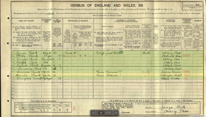 1911 census original image HHS