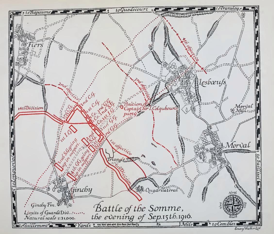Horace Rainbow - Somme Map