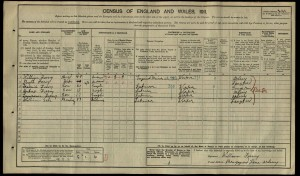 William Sale 1911 census