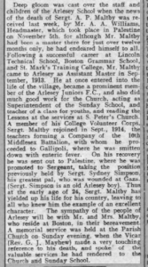 Alfred Maltby Biggs Chron 7 Dec 1917