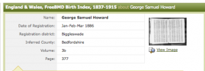birth index GSH