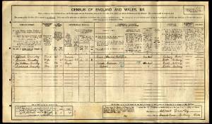 1911 census JWC