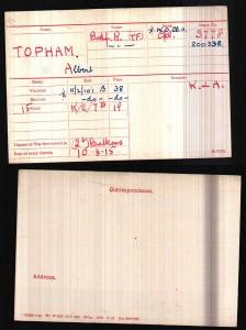 Albert_Topham_Medal_Record