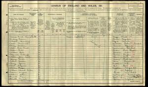 Frederick_Bygrave_Census_1911_pg1