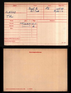 John_Albone_Medal_Record