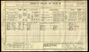 Lawrence_Fossey_Census_1911