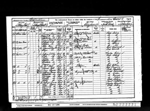 Soley Family 1901 census