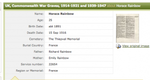 war graves HR